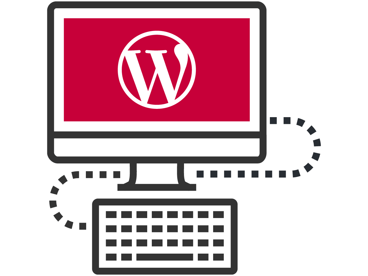 WordPress content management system development